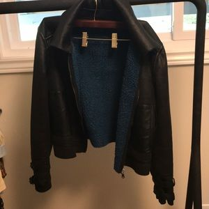 Guess Soft faux suede shearling jacket